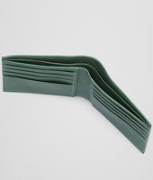 Emerald Green Intrecciato Washed Lambskin Wallet