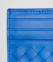 SIGNAL BLUE INTRECCIATO VN CARD CASE