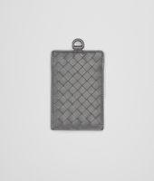 New Light Grey Intrecciato Nappa Card Case