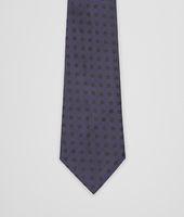 Sapphire Black Silk Tie