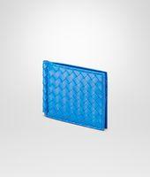 Signal Blue Intrecciato Vn Wallet