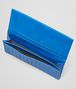 BOTTEGA VENETA Signal Blue Intrecciato Vn Continental Wallet Continental Wallet U ap