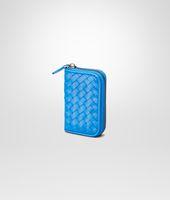 Signal Blue Intrecciato Vn Coin Purse