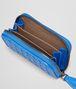 BOTTEGA VENETA Signal Blue Intrecciato Vn Coin Purse Card Case or Coin Purse U ap