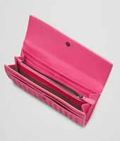 ROSA SHOCK Intrecciato Washed Lambskin  CONTINENTAL WALLET