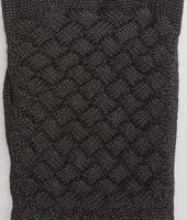 BLACK WOOL GLOVE