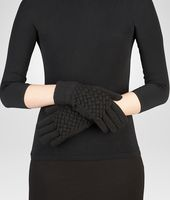 GLOVE IN NERO WOOL