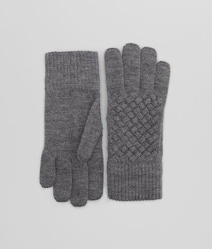 Anthracite Wool Gloves