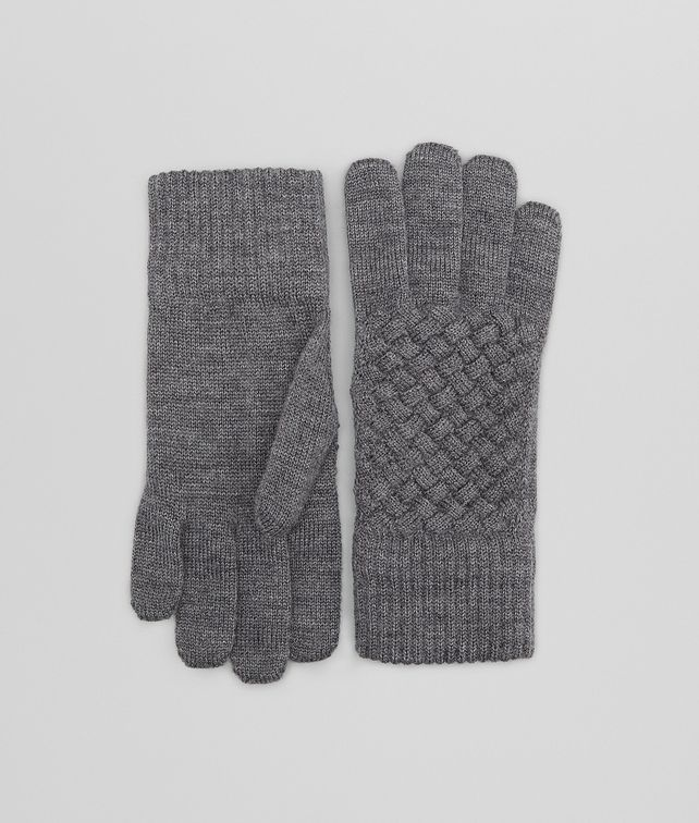 Anthracite Wool Gloves