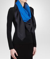 Royal Blue Wool Scarf