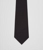 Nero Wool Silk Tie