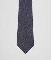 Royal Dark Grey Silk Tie