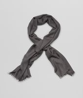 ANTHRACITE  CASHMERE  SCARF