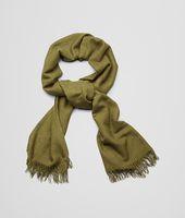 Olive Cashmere Silk Scarf