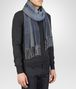 BOTTEGA VENETA Anthracite Blue Cashmere Scarf Scarf or Hat or Glove U rp