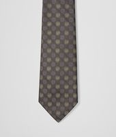 Black Light Green Silk Tie