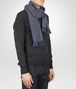 BOTTEGA VENETA Anthracite Blue Wool Cashmere Scarf Scarf or Hat or Glove U rp