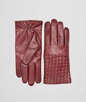 Aubergine Intrecciato Soft Nappa Gloves