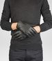 BOTTEGA VENETA Dark Grey Intrecciato Soft Nappa Gloves Scarf or Hat or Glove U rp
