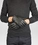 BOTTEGA VENETA GANTS DARK GREY EN NAPPA SOUPLE INTRECCIATO écharpe ou gant ou chapeau U rp