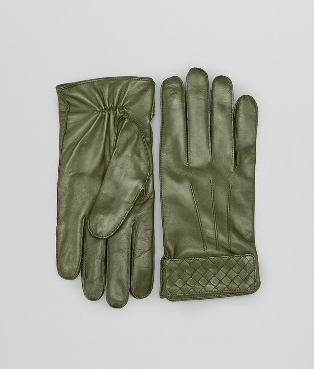 BOTTEGA VENETA Sergeant Intrecciato Soft Nappa Gloves Scarf or Hat or Glove U fp
