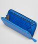 BOTTEGA VENETA Signal Blue Intrecciato Vn Zip Around Wallet Zip Around Wallet U ap