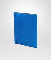 SIGNAL BLUE INTRECCIATO NAPPA IPAD CASE