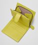 BOTTEGA VENETA NEW CHARTREUSE INTRECCIATO NAPPA WALLET Mini Wallet or Coin Purse D lp