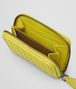 BOTTEGA VENETA New Chartreuse Intrecciato Nappa Coin Purse Mini Wallet or Coin Purse D ap
