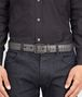 BOTTEGA VENETA Medium Grey Intrecciato Vachette Belt Belt U ap
