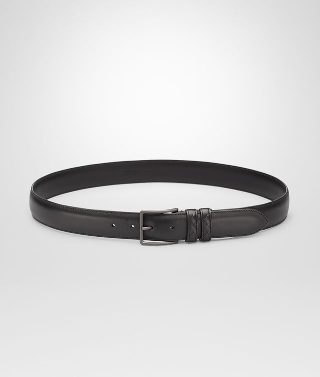 BOTTEGA VENETA Nero New Calf Belt Belt U fp