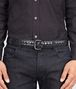 BOTTEGA VENETA New Dark Grey Intreccio Scolpito Belt Belt U ap