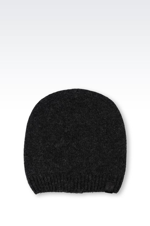 CASHMERE HAT: Hats Men by Armani - 1