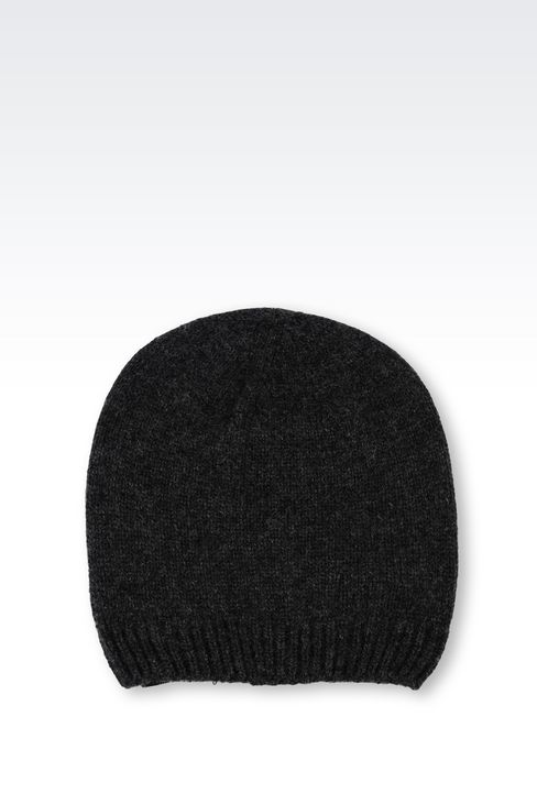 CASHMERE HAT: Hats Men by Armani - 2