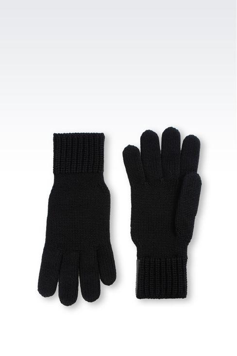 WOOL GLOVE: Gloves Men by Armani - 2