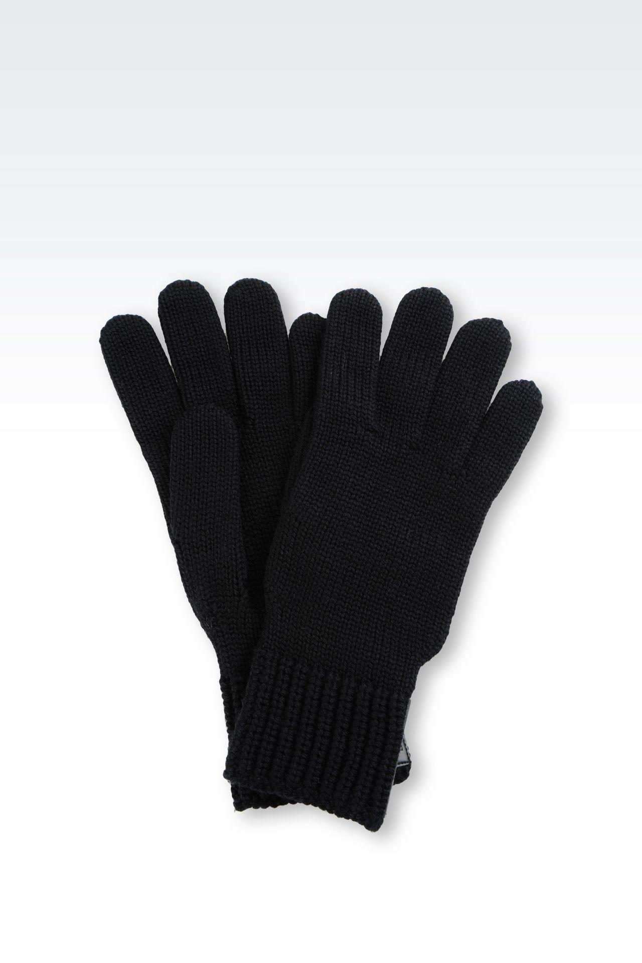 WOOL GLOVE: Gloves Men by Armani - 0