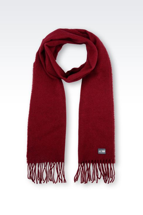 WOOL SCARF: Scarves Men by Armani - 1