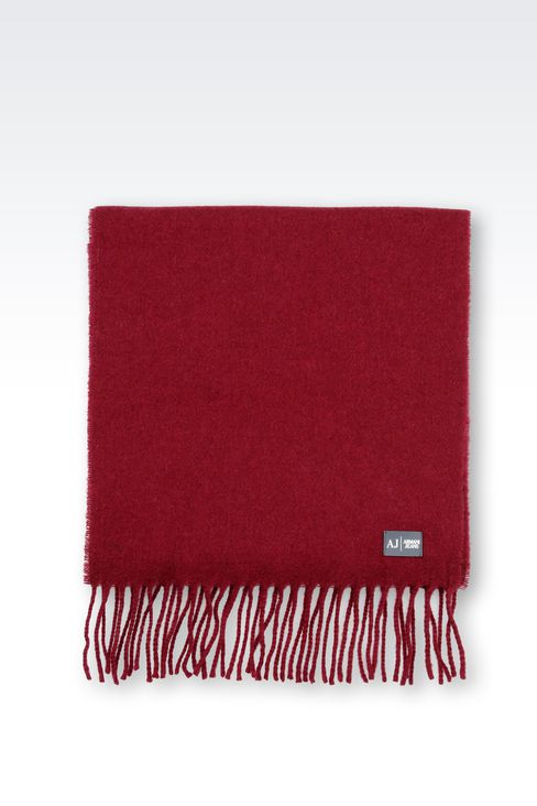 WOOL SCARF: Scarves Men by Armani - 2