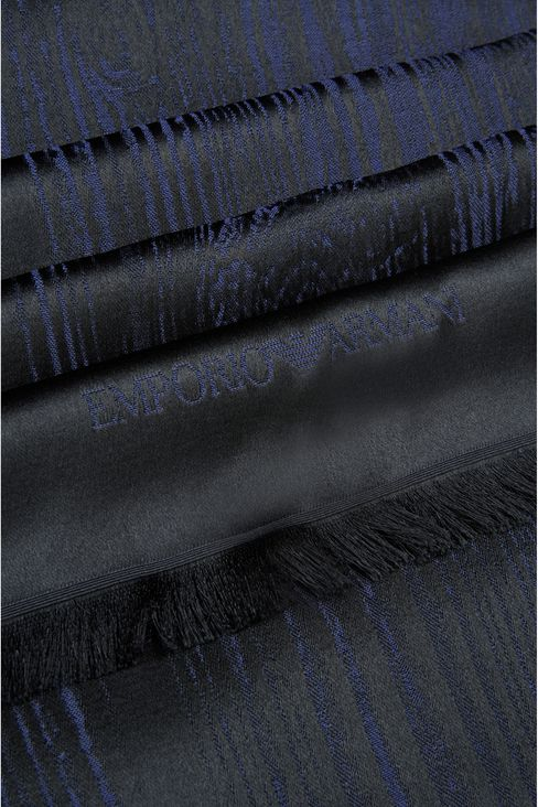 SCARF IN VISCOSE BLEND: Stoles Men by Armani - 3