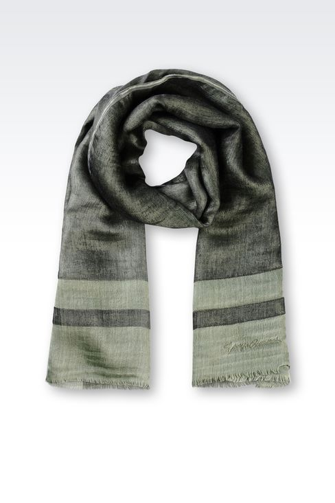 WRAP IN SILK AND CASHMERE: Stoles Women by Armani - 1