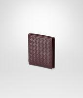 Aubergine Intrecciato Vn Wallet