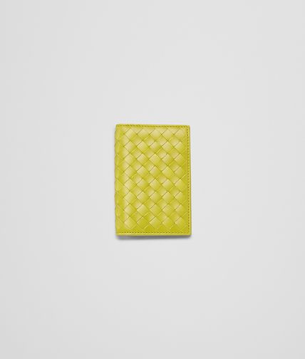 BOTTEGA VENETA - New Chartreuse Intrecciato VN Card Case