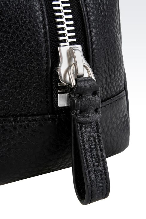 BEAUTY CASE IN PRINTED CALFSKIN: Beauty cases Men by Armani - 4