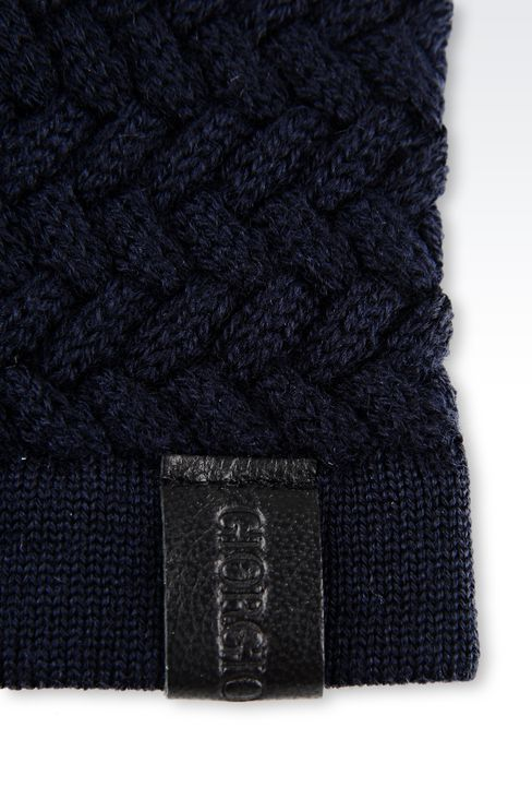 VIRGIN WOOL HAT: Hats Men by Armani - 3