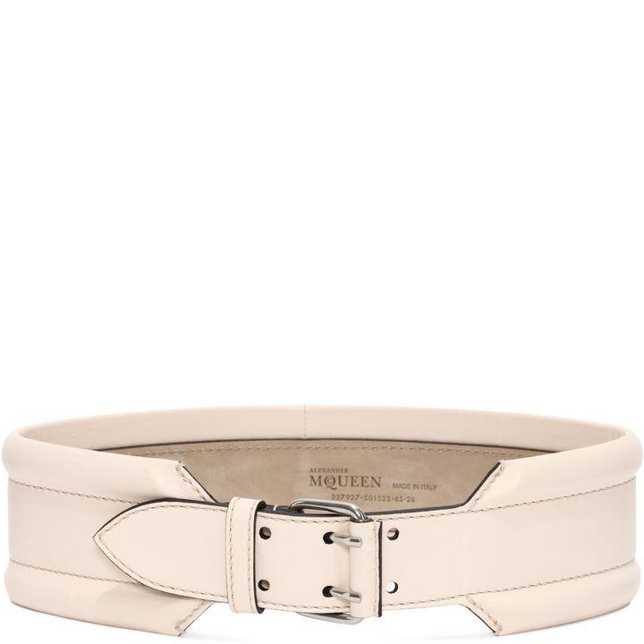 Alexander McQueen, Leather Padded Belt