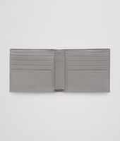 New Light Grey Soft Crocodile Fumé Wallet