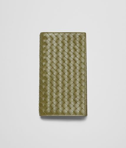 BOTTEGA VENETA - New Army Intrecciato Vn Continental Wallet