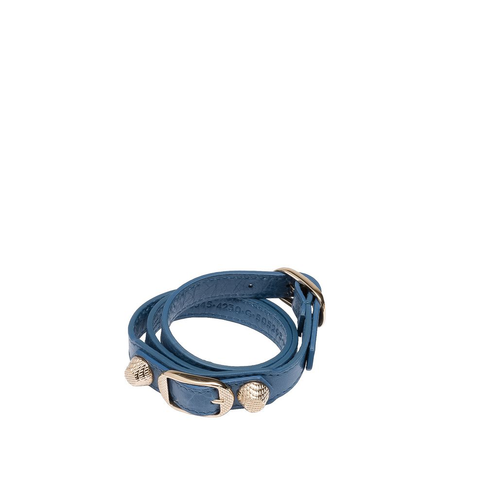 Balenciaga Giant Gold Bracelet Triple Tour