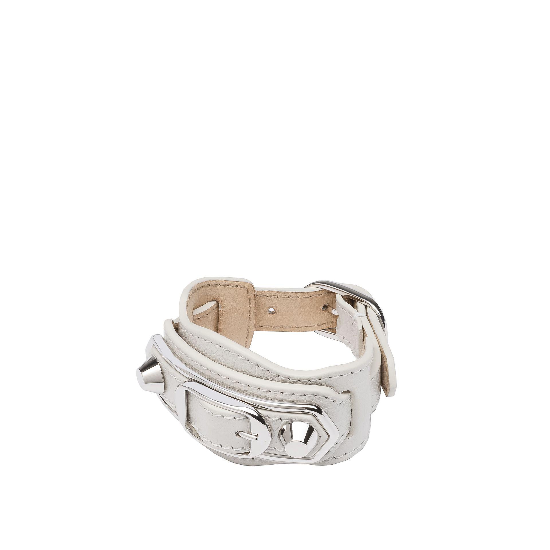 Balenciaga Classic Metallic Edge Bracelet