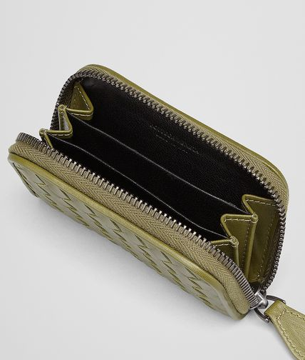 BOTTEGA VENETA - New Army Intrecciato Vn Coin Purse